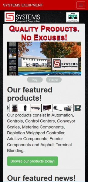 SYSTEMS Equipment Corp