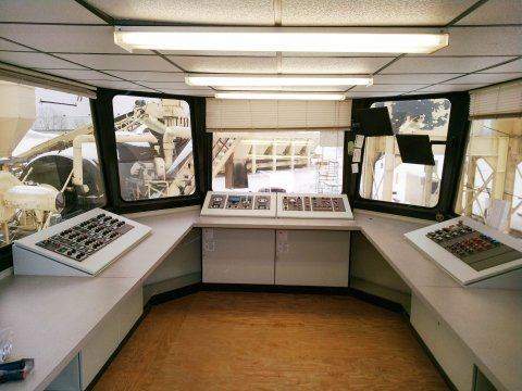 Remanufactured Control Room