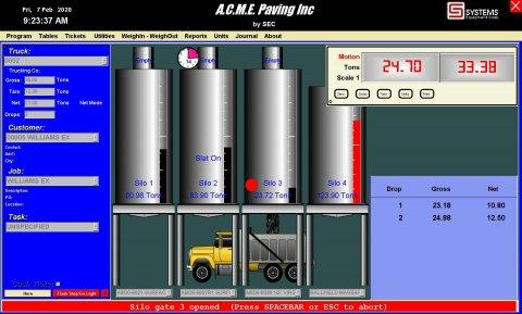 WinLC3000 Main Screen