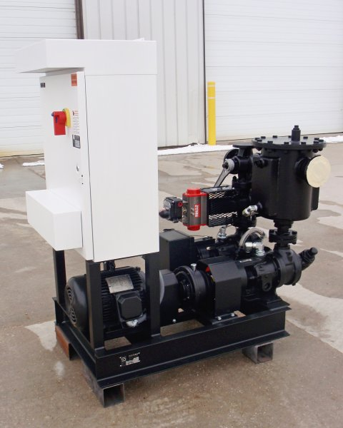 Pump Skid with Cabinet